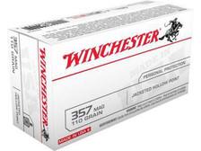 Winchester 357 Magnum Q4204 110 gr JHP 50 rounds