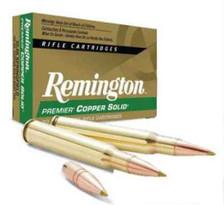 Remington 300 Win Mag Ammunition Premier PCS300WA 150 Grain Solid Copper Lead Free Polymer Tip 20 rounds