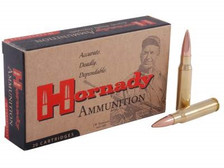 Hornady 308 Win Ammunition Custom Match H8097 168 Grain Boat Tail Hollow Point 20 rounds
