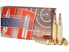 Hornady 223 Rem Ammunition H80259 Superformance Match 73 Grain ELD Match 20 rounds
