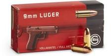 GECO 9mm Ammunition 124 Grain Full Metal Jacket 50 rounds