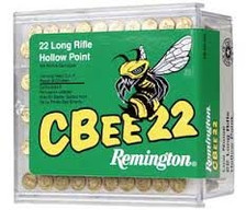 Remington CBEE22, 22LR, Subsonic, Truncated Cone HP, 100 rounds