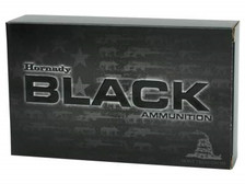 Hornady 308 Win Ammunition Black Rifle H80927 155 Grain A-MAX 20 rounds