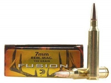 Federal 7mm Rem Mag Ammunition Fusion F7RFS1 150 Grain Spitzer Boat Tail 20 rounds