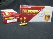 Precision One 10mm Auto Ammunition 180 Grain Full Metal Jacket 50 rounds