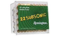 Remington 22LR Subsonic 38 Gr Lead HP 100 rounds