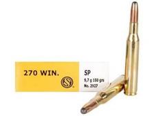 Sellier & Bellot 270 Winchester Ammunition SB270A 150 Grain Soft Point 20 rounds