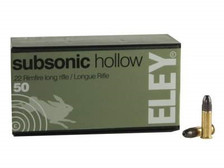 Eley 22LR Subsonic ELEY5400 40 gr HP 50 rounds