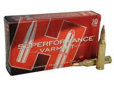 Hornady 243 Win Superformance Varmint H8343 58 gr V-MAX 20 rounds
