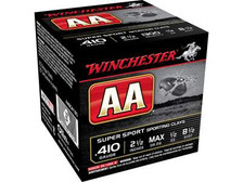 """Winchester 410 Bore AA Super Sport Sporting Clays AASC4185 2-1/2"""" 1/2 oz #8.5 Shot 1300fps 250 rounds"""
