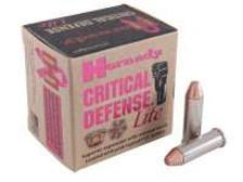 Hornady 38 Special Critical Defense Lite H90300 90 gr FTX 25 rounds