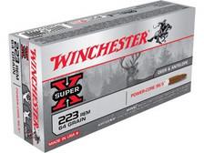 Winchester 223 Rem Ammunition Lead Free X223LF 64 Grain Hollow Point 20 rounds