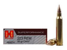 Hornady 223 Rem Superformance H83274 55 gr GMX 20 rounds