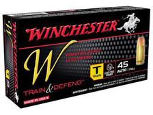 Winchester 45 Auto Train W45T 230 gr FMJ 50 rounds