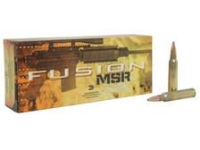 Federal 223 Rem Ammunition Modern Sporting Rifle F223MSR1 62 Grain Spitzer Boat Tail 20 rounds