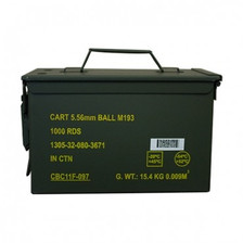Magtech 5.56x45mm NATO Ammunition MT556MIL M193 55 Grain Full Metal Jacket Ammo Can 1,000 rounds