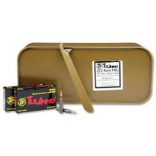 Tula 223 Remington Ammunition TA223551 55 Grain Full Metal Jacket Spam Can 500 rounds
