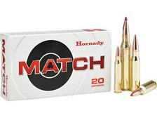 Hornady 300 Win Mag Ammunition Custom H82180 195 Grain ELD Match 20 rounds