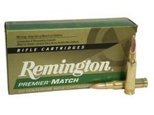 Remington 308 Winchester Premier Match Ammunition RM308W7 168 Grain Sierra MatchKing Hollow Point 20 Rounds