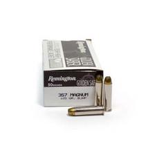 Remington 357 Magnum Ammunition Golden Saber GS357MA 125 Grain Jacketed Hollow Point 50 rounds
