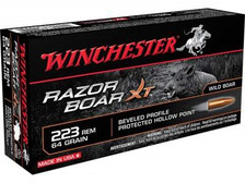 Winchester 223 Rem Ammunition RazorBack S223WB 64 Grain Soft Point 20 rounds
