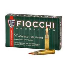 Fiocchi 22-250 Remington Extrema Ammunition FI22250HVB 40 Grain V-MAX 20 rounds