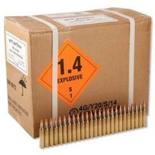 Prvi PPU 5.56x45mm NATO Ammunition M193 PP52 55 Grain Full Metal Jacket Case of 1000 Rounds