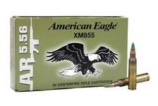 Federal 5.56 x 45mm NATO Ammunition XM855FL 62 Grain Steel Core Full Metal Jacket 20 Rounds
