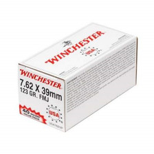 Winchester 7.62x39mm Value Pack USA762VP 123 gr FMJ 40 rounds