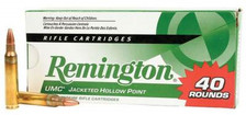 Remington 223 Rem L223R7B 45 gr JHP 40 rounds