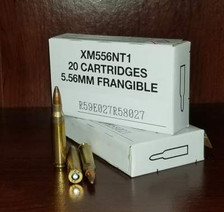 Federal 5.56x45mm Ammunition XM556NT1 50 Grain Non-Toxic Frangible Soft Point 20 Rounds