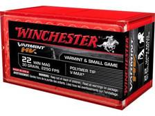 Winchester 22 Mag Varmint HV S22M2PT 30 gr V-MAX 50 rounds
