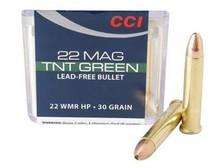 CCI 17 HMR TNT Green CCI0951 16 gr Lead-Free Hollow Point 50 per box