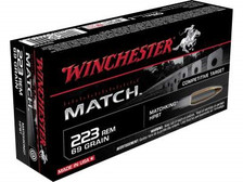 Winchester 223 Rem Supreme Match S223M2 69 gr BTHP 20 rounds