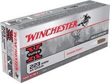 Winchester 223 WSSM Ammunition X223WSS1 64 Grain Power Point 20 rounds