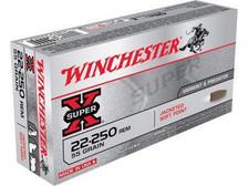 Winchester 22-250 Super-X X222501 55 gr JSP 20 rounds