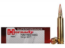 Hornady 7mm Rem Mag American Whitetail H80590 154 gr