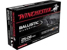 Winchester 25-06 Supreme SBST2506A 85 gr Ballstic Silvertip 20 rounds