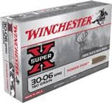 Winchester 30-06 Super-X X30064 180 gr Power-Point 20 rounds