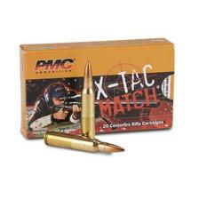 PMC 223 Remington X-TAC Match Ammunition PMC223XM 77 Grain Sierra MatchKing Open Tip Match 20 rounds