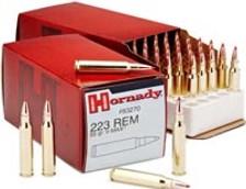Hornady 223 Remington Ammunition H83270CASE 55 Grain V-MAX 500 rounds