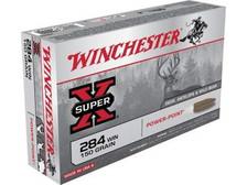 Winchester 284 Winchester Ammunition Super-X X2842 150 Grain Power-Point 20 Rounds