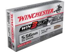 Winchester 5.56x45mm NATO Win3Gun X556TG 55gr FMJ 20 rounds