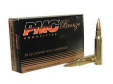 PMC 308 Winchester Bronze Ammunition PMC308B 147 Grain Full Metal Jacket Boat Tail CASE 500 rounds