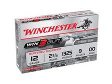 "Winchester 12 GA Win3Gun XB1200TG 2 3/4"" 00 Buck 1325fps 5 rounds"