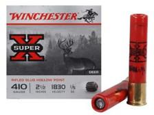 "Winchester 410 Bore Super-X X41RS5VP 2-1/2"" 1/5 oz Rifled Slug Value Pack 1830fps 15 rounds"
