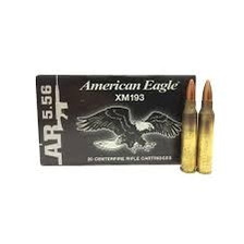 Federal 5.56x45mm NATO Ammunition XM193 55 Grain Full Metal Jacket Boat Tail Case of 500 Rounds