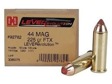 Hornady 44 Magnum LeverEvolution H92782 225 gr FTX 20 rounds