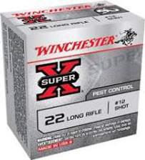 Winchester Super-x 22LR, SHOTSHELL, 22LRS, #12, 50 rounds