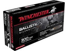 Winchester 300 WSM Supreme SBST300S 150 gr Ballistic Silvertip 20 rounds
